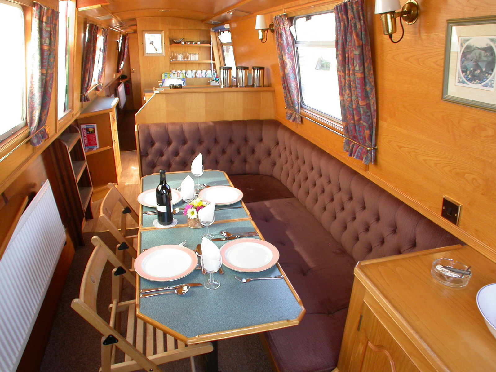 Fanfare Dining to Galley