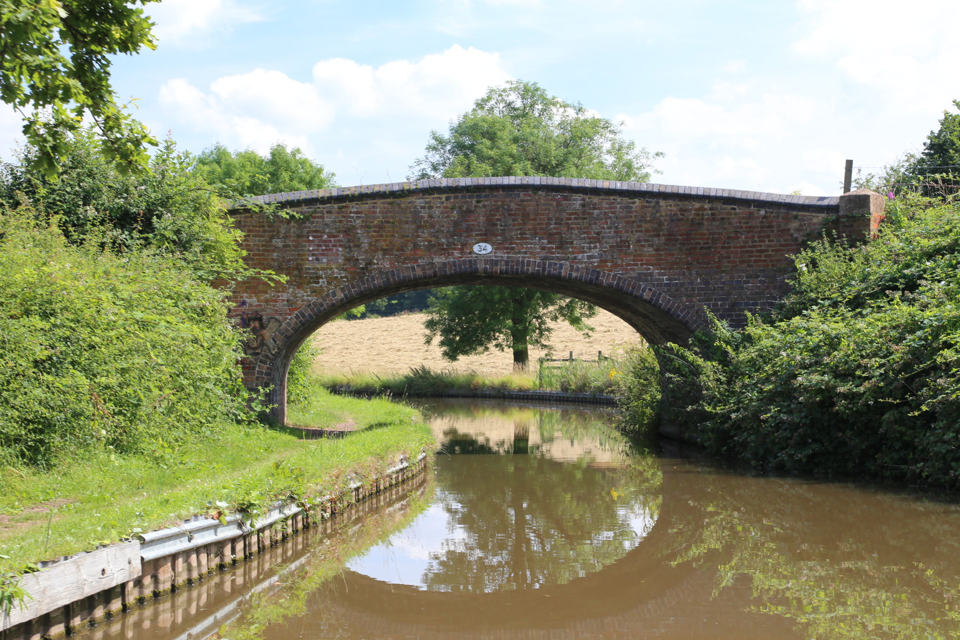 Coventry Canal Bridge 34
