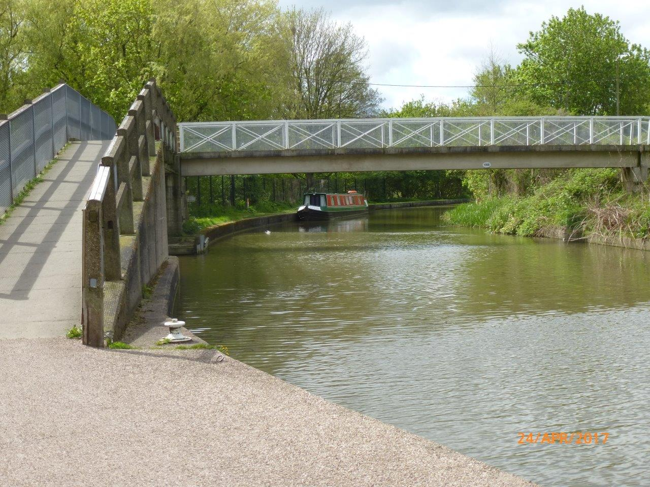 Anderton visitor mooring Trent and Mersey