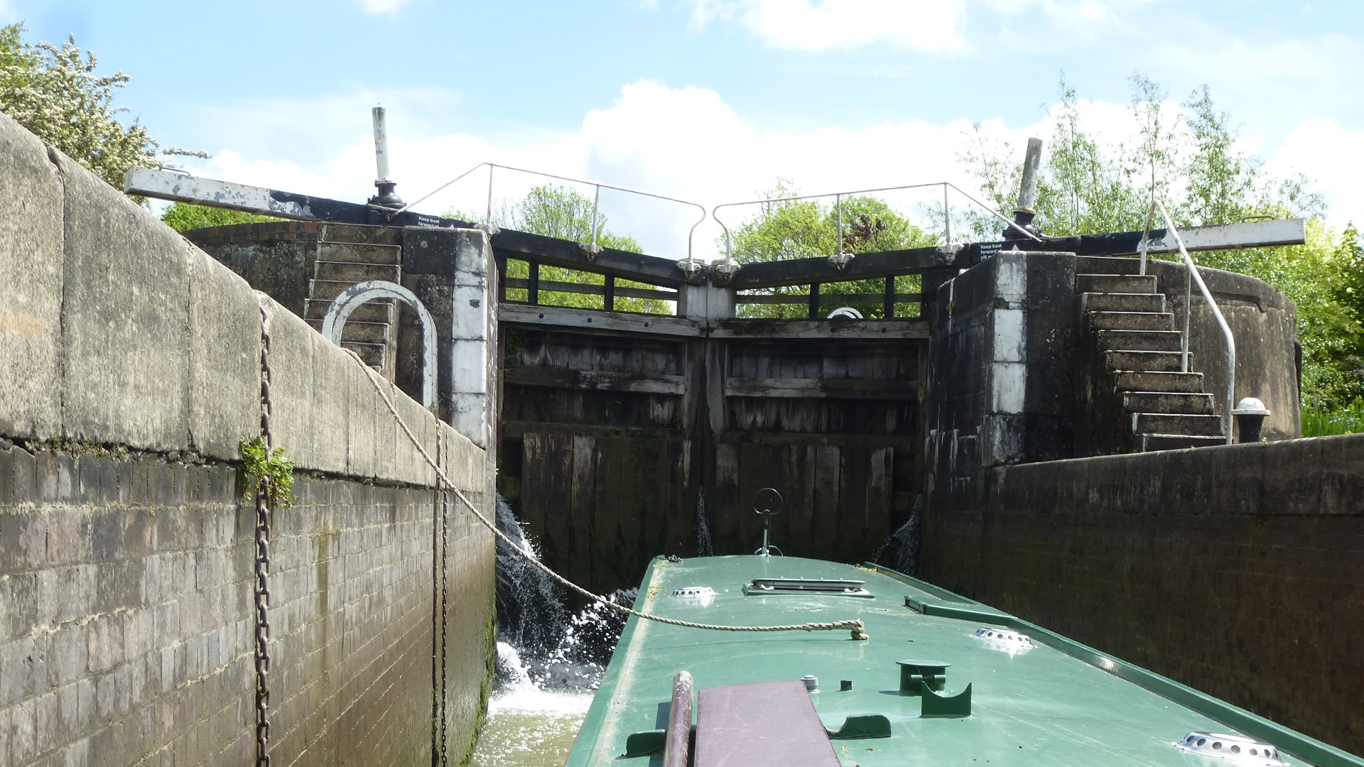 Bascote Locks, Grand Union Canal