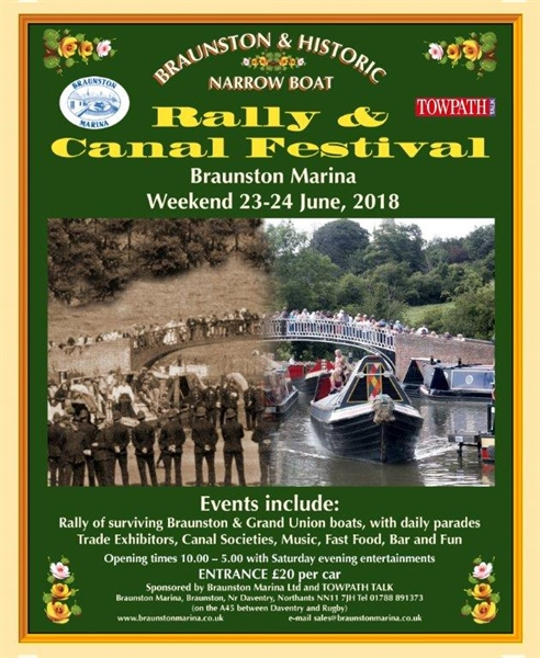 Braunston Boat Rally 2018
