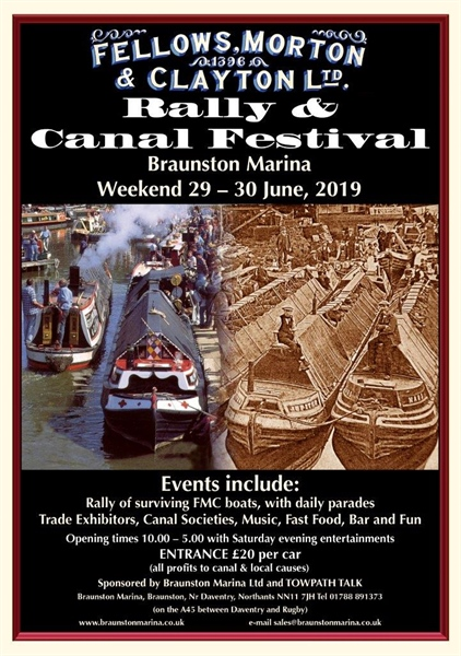 Braunston Boat Rally 2019