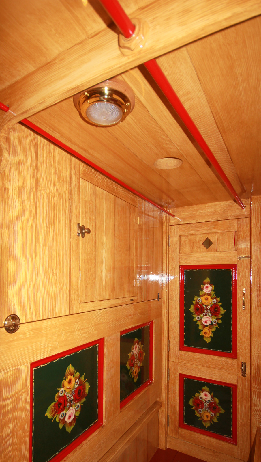 Grain and Decorated Cabin
